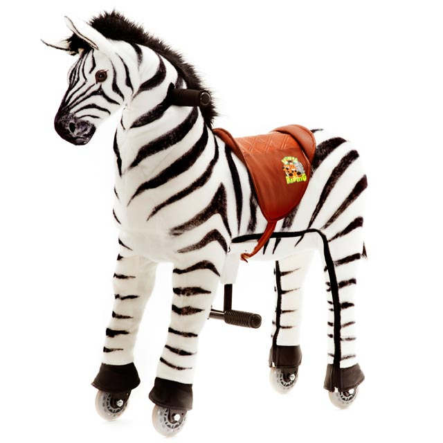 "Animal-Riding ZEBRA ""Marthi"" (Small)"